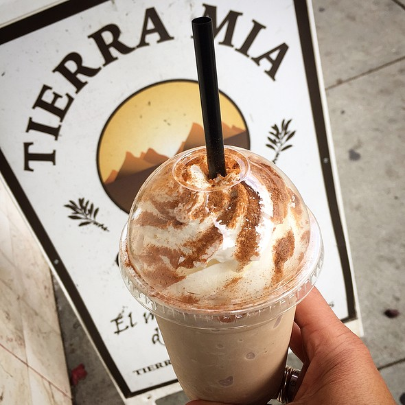 Horchata Frappé @ Tierra Mia Coffee