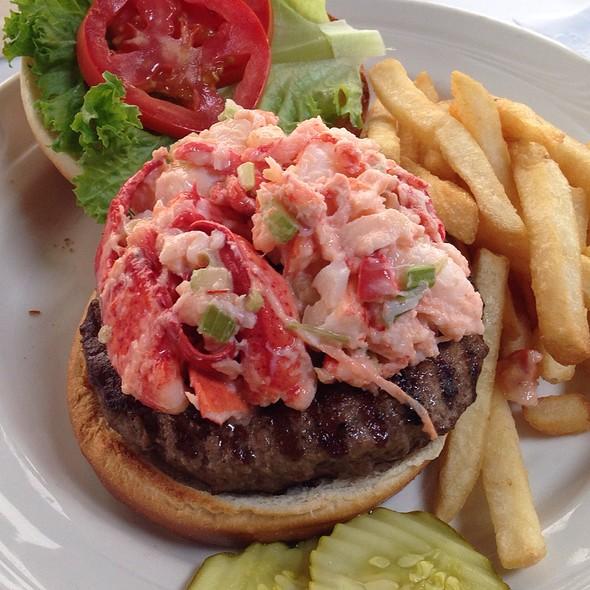 Surf & Turf Burger @ Mattakeese Wharf Waterfront Restaurant