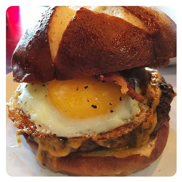 Breakfast Burger @ Embers Tap House