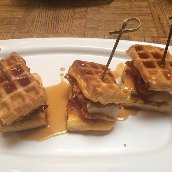 Chicken & Waffles Sliders
