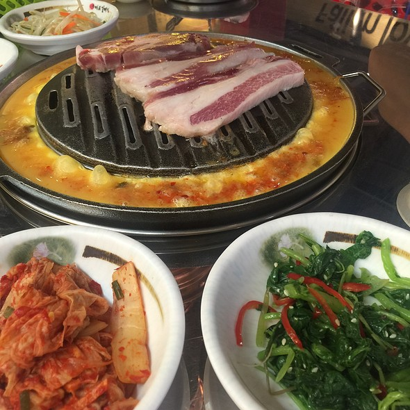 Korean BBQ Pork @ Mapogalbi