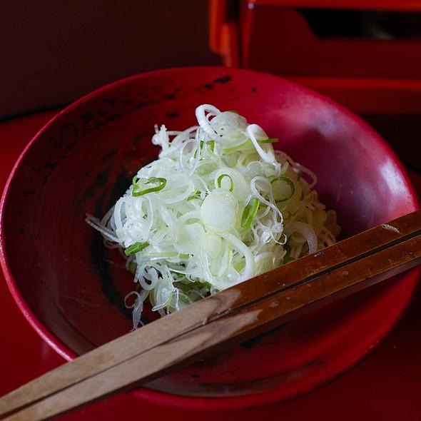 Spring Onion Salad @ Tofu-ya Ukai