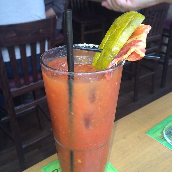 Bacon Bourbon Bloody Mary @ Chapter One: The Modern Local