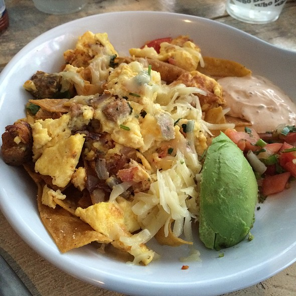 migas @ The Ruby Slipper Cafe