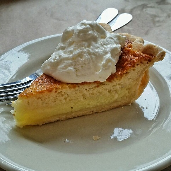 Buttermilk Pie @ Hominy Grill