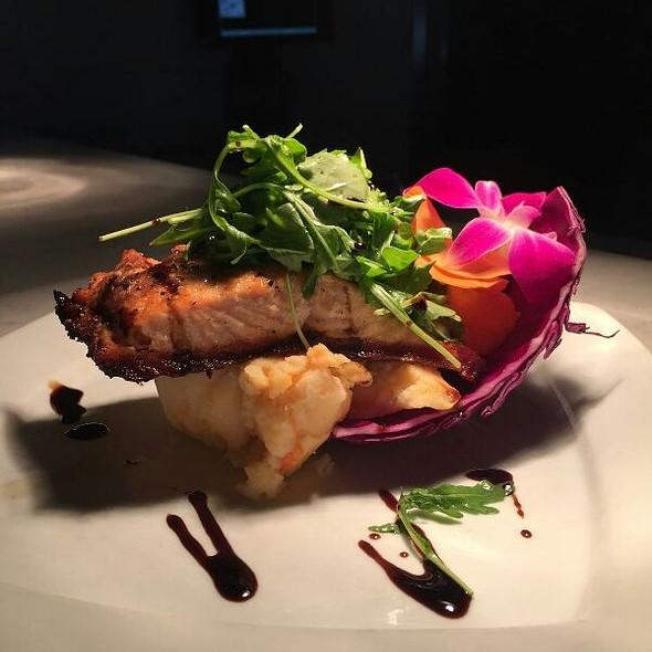 Fire Roasted Salmon - Adelphia Restaurant, Deptford, NJ