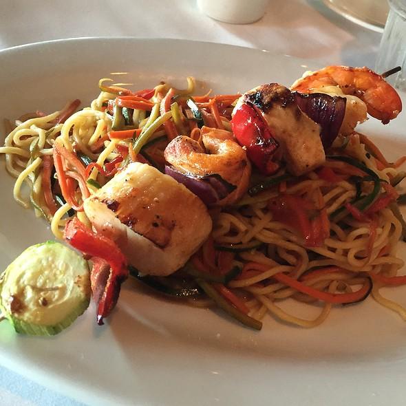 Seafood kabob @ Pacifica Seafood Restaurant