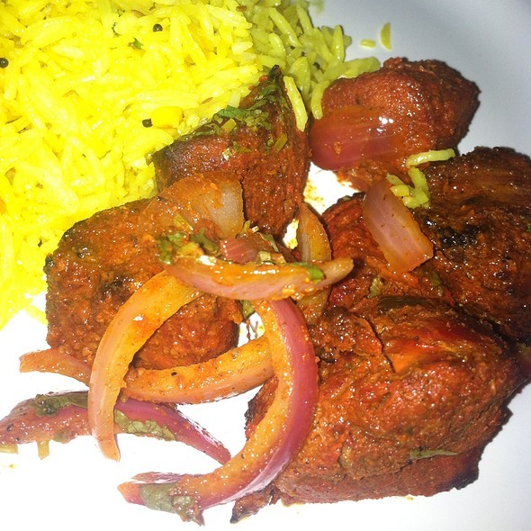 Tandoori Lamb Kebab And Lemon Rice - Spicy Bite, San Francisco, CA