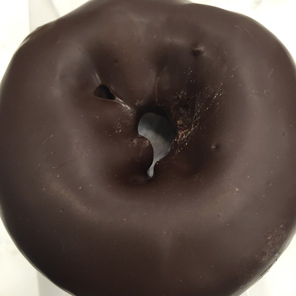 Chocolate Yellow Cake Donut