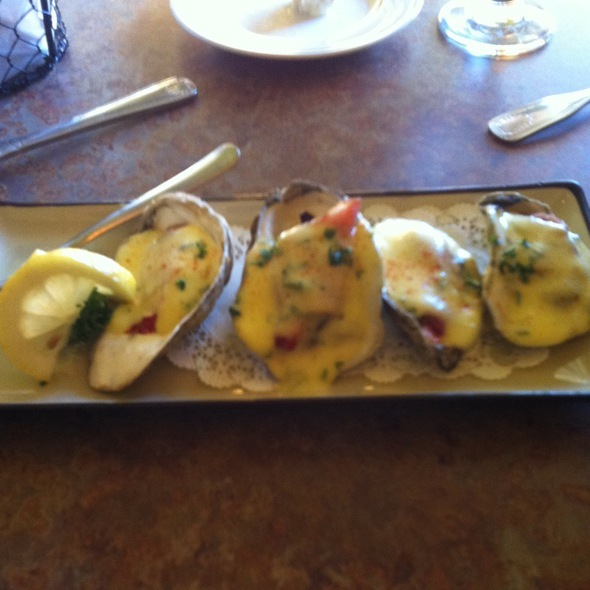 Baked New England Oysters - MT's Local Kitchen & Wine Bar, Nashua, NH