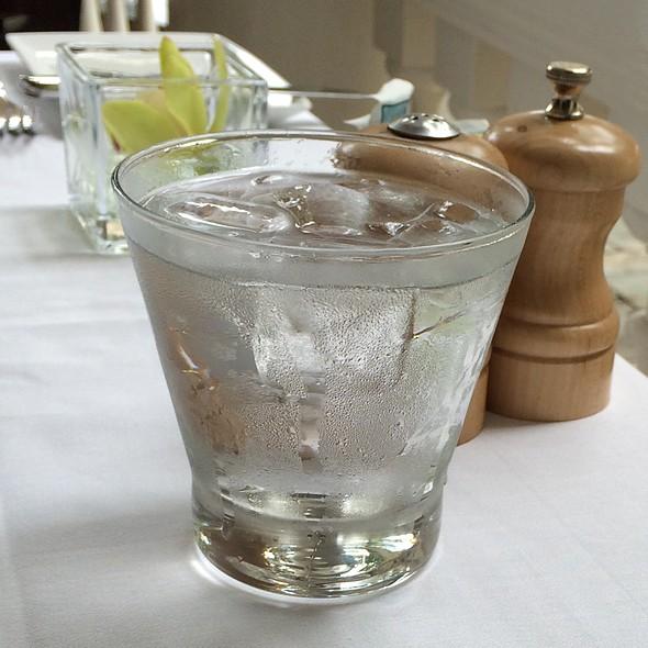 Glass Of Water @ The Veranda - Moana Surfrider Hotel