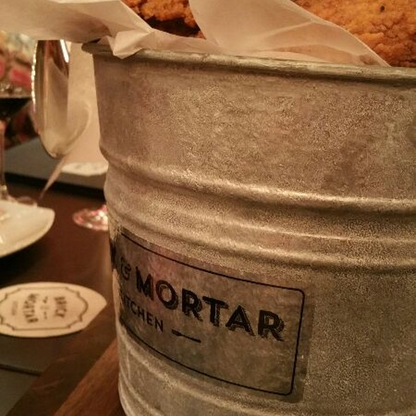 fried chicken @ Brick & Mortar Kitchen