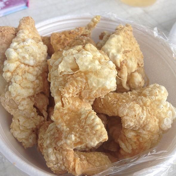 Fried Chicken Skin @ Chowfun Restaurant