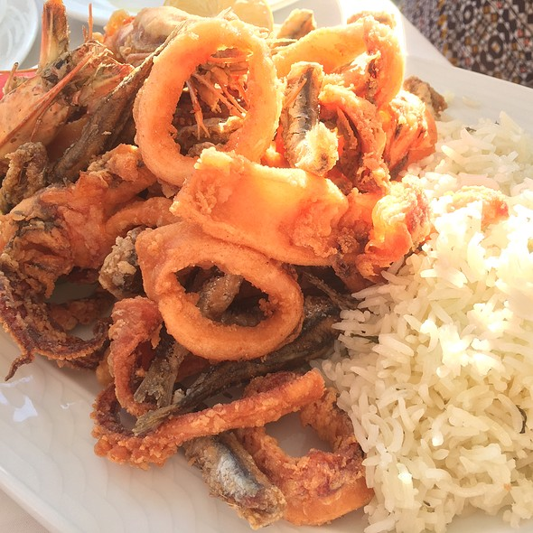 Assorted Seafood @ Taverne Nikos