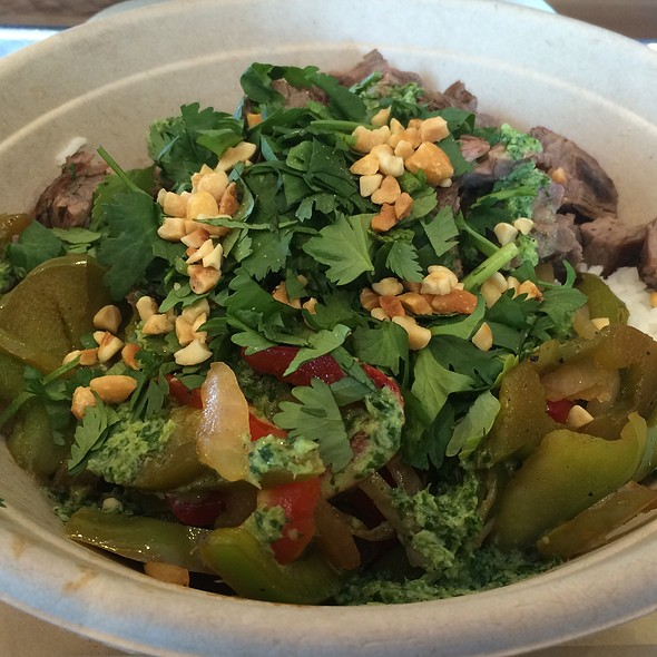 Steak And Basmati Rice Bowl @ Fresh Griller