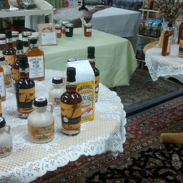 Jams, Conserves, and Syrups @ Schultzville Store & Cafe