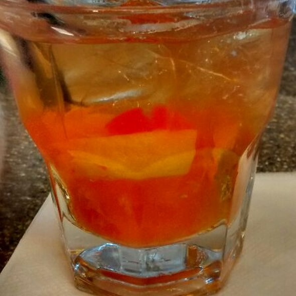 Old Fashion With Woodford @ Silks Saratoga Bistro