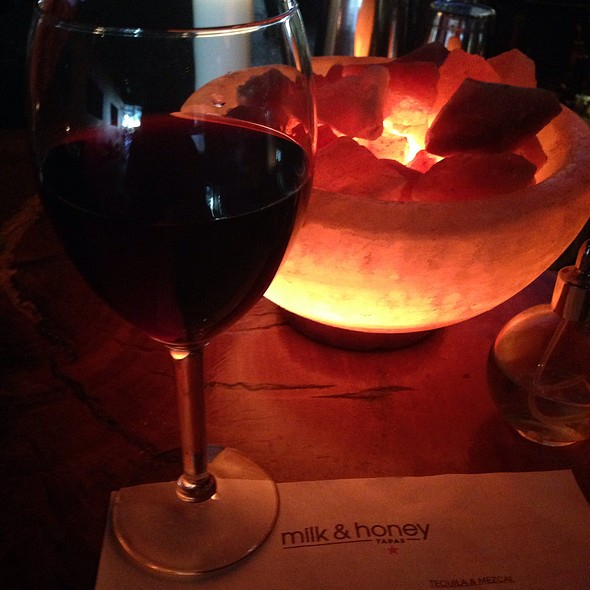 $6 Hh Glass Of Cab - milk & honey, Santa Barbara, CA