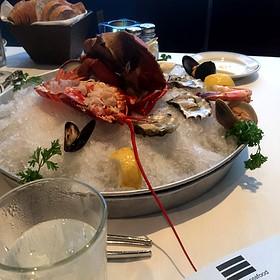 Seafood platter…