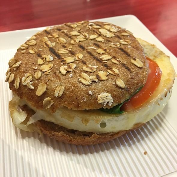 Turkey Sausage, Egg White And Spinach Power Sandwich @ Panera Bread
