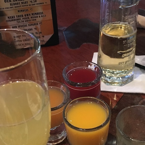 Make Your Own Mimosa - Home Restaurant - Silver Lake, Los Angeles, CA