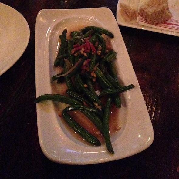 string beans - Fork & Wrench, Baltimore, MD