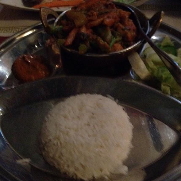 Hyderabadi Lamb @ Lumbini Restaurant