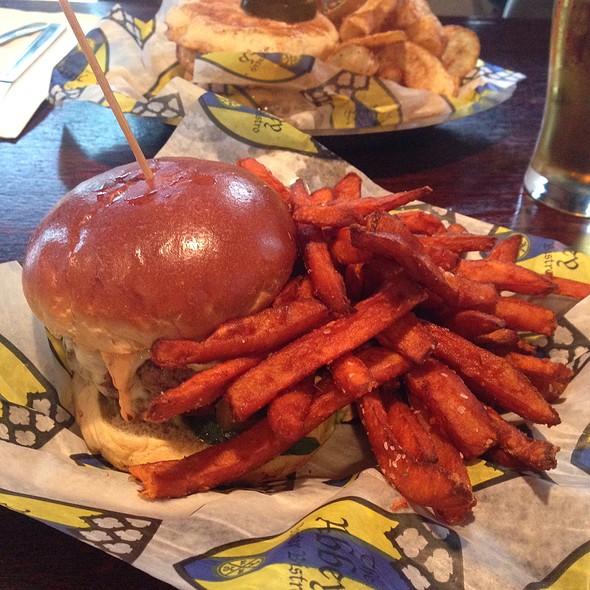 Santa Fe Burger @ Abbey Burger Bistro