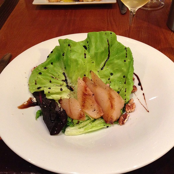 Poached Pear Salad @ Pairings Bistro