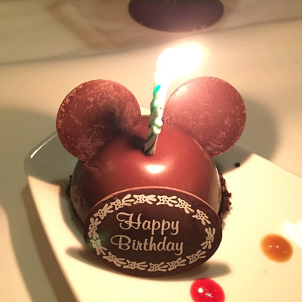 Mickey Mouse Chocolate Mousse