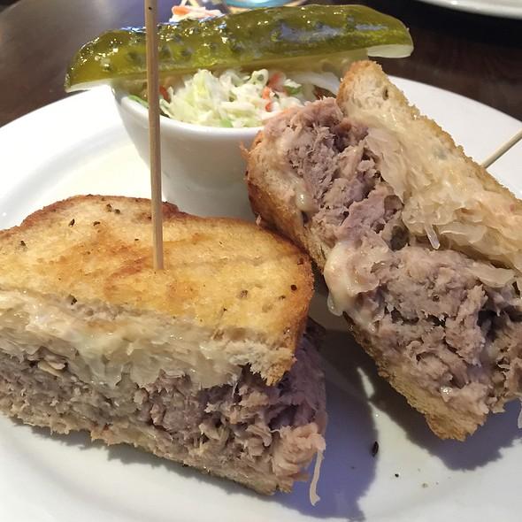Kalua Pig Reuben Sandwich