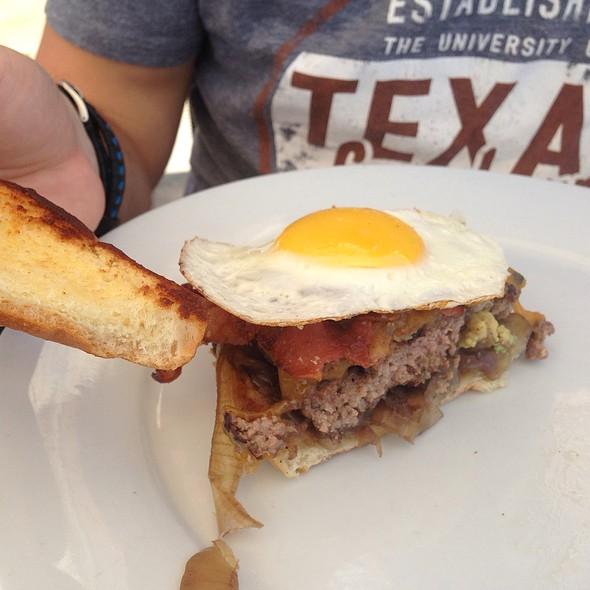 Fried Egg Burger @ J. Henry's Draught House