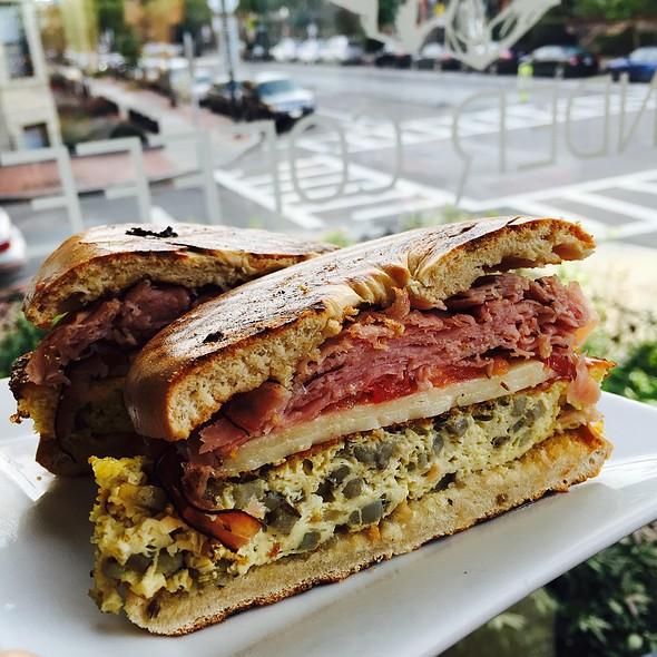 Breakfast Sandwich @ Render Coffee