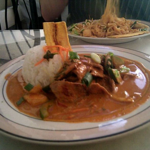 Red Curry with Beef @ Thai Lanna Restaurant