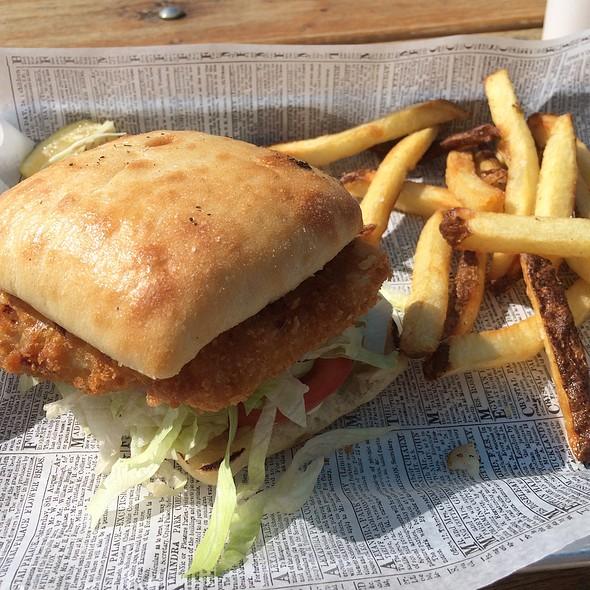 Red Snapper Sandwich