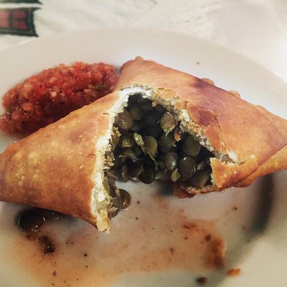 Lentil Samosa @ Selam Ethiopian Restaurant & Hooka Lounge