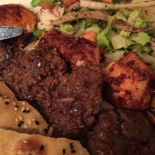 Izmir Kofte Platter  @ Sultan Kebab