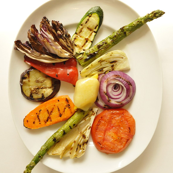 Grilled Seasonal Vegetables - Fiorino, Summit, NJ
