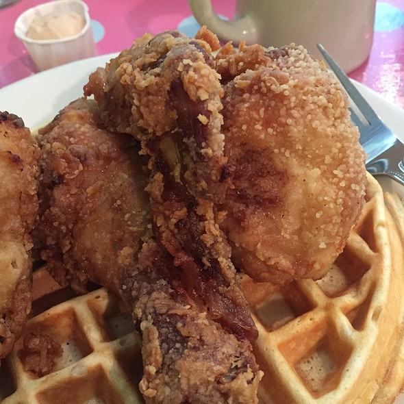 Chicken and Waffles. - Kitchenette - Uptown, New York, NY