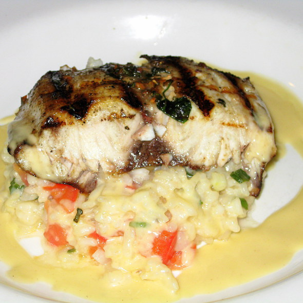 Chilean Sea Bass with Lemon Butter Risotto - Mele Bistro (formerly Village Bistro), Arlington, VA