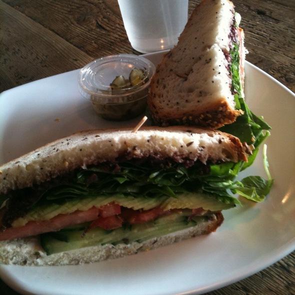 Veggie Sandwich @ A Markets