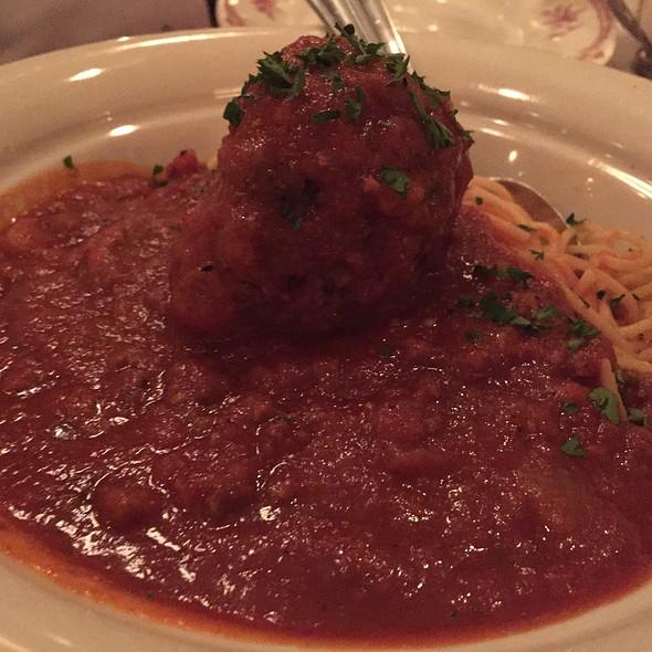 Spaghetti & Meatball - Maggiano's - Buckhead, Atlanta, GA