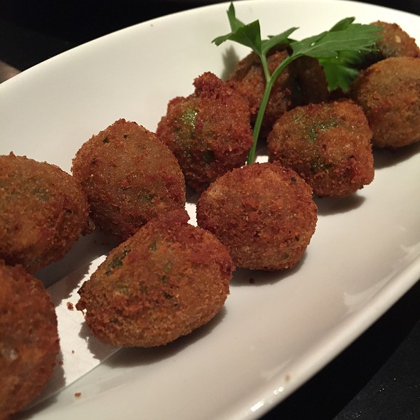 Fried Olives - RPM Italian, Chicago, IL