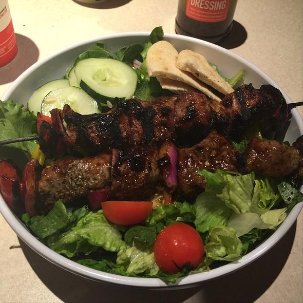 Steak Greek Salad @ Zoe's Kitchen