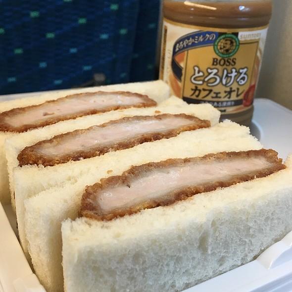 Sandwich @ Shinkansen: Tokyo-Kyoto