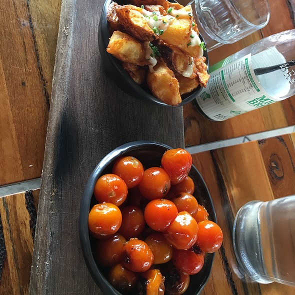 Side Potatoes And Tomatos