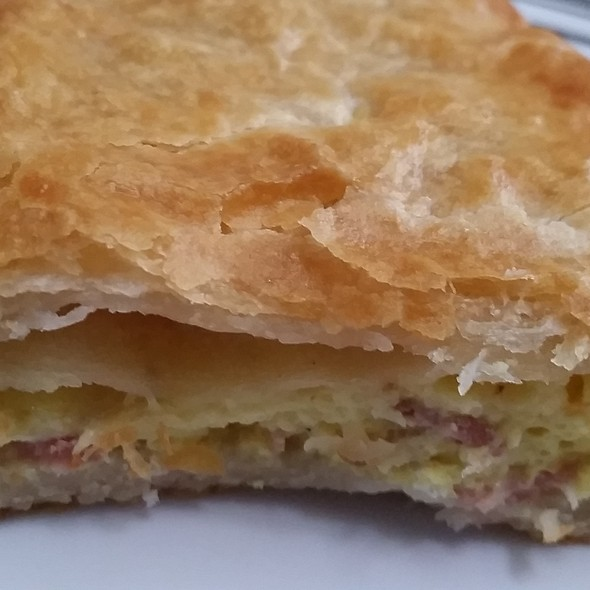 Egg & Cheese Meat Pie