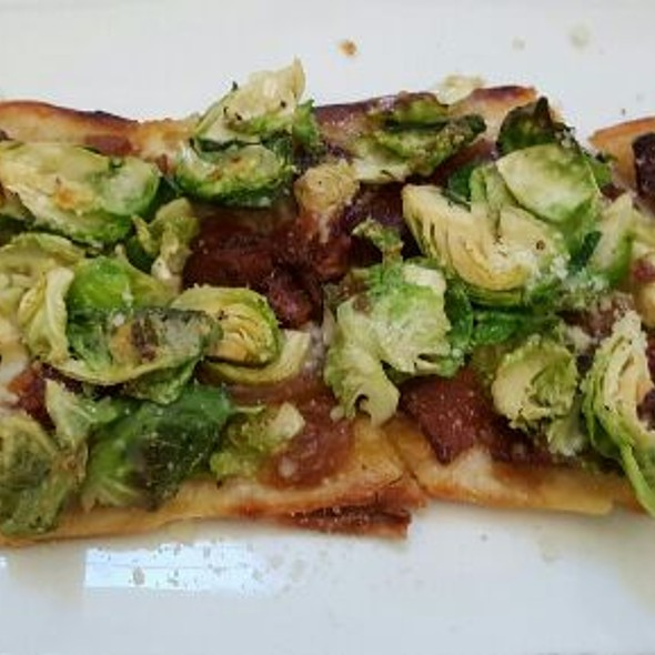 Brussel Sprout & Bacon Flatbread