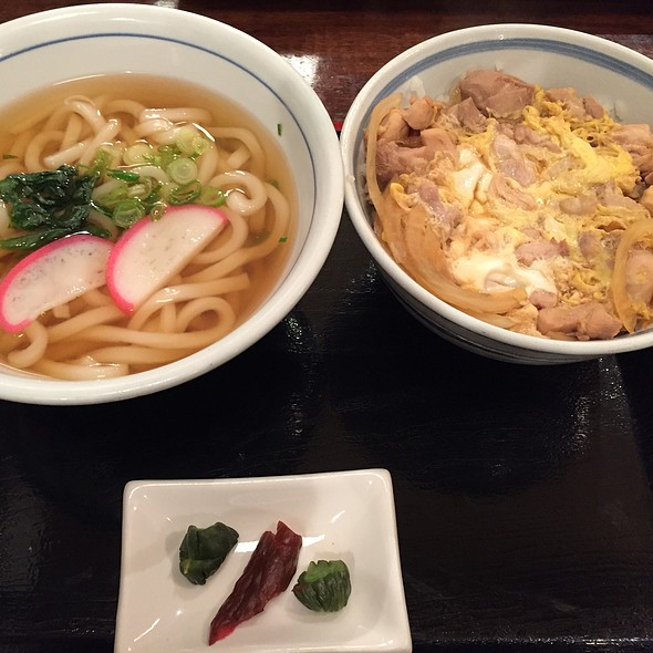 Oyako Don And Udon @ Udon West