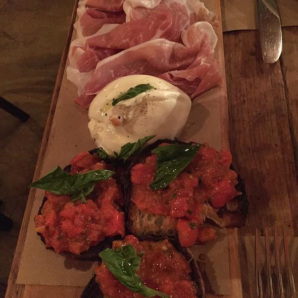 Prosciutto And Burrata @ Emporio